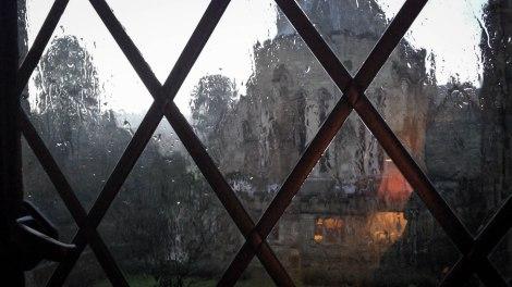 Rain at Ashdown Park, Feb 2014.